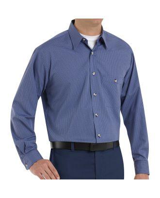 Redkap Men's L/S Mini-Plaid Shirt
