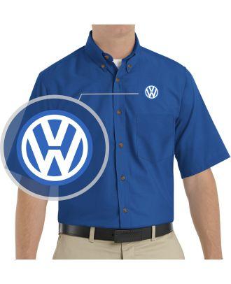 Redkap Men's S/S Service Advisor Volkswagen Automotive Shirt