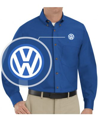 Redkap Men's L/S Service Advisor Volkswagen Automotive Shirt