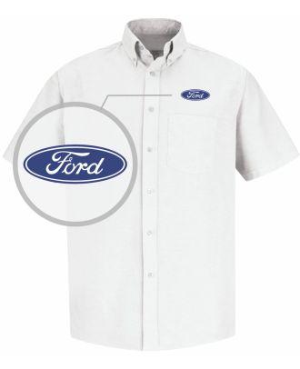 Redkap Men's S/S Service Advisor Ford Automotive Shirt