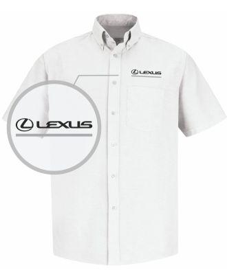 Redkap Men's S/S Service Advisor Lexus Automotive Shirt
