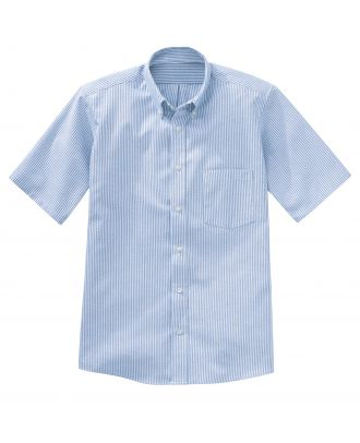 Redkap Men's S/S Executive-Dress Oxford Shirt