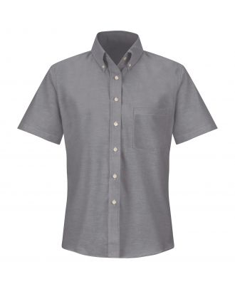 Redkap Women's S/S Executive-Dress Oxford Shirt