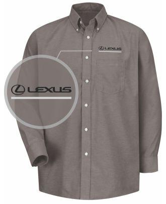 Redkap Men's L/S Service Advisor Lexus Automotive Shirt