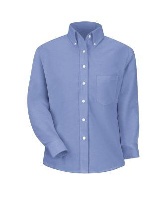 Redkap Women's L/S Executive-Dress Oxford Shirt
