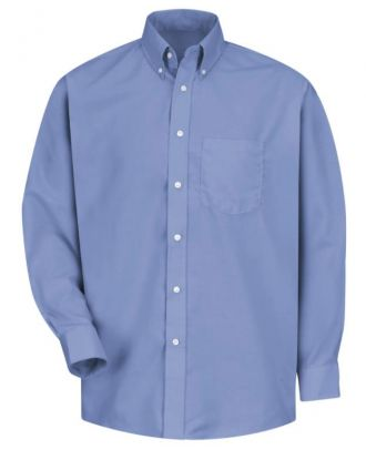 Redkap Men's L/S Easy Care Dress Oxford Shirt
