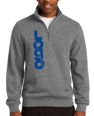 WF Men's 1/4 Zip Custom-Logo Sweatshirt