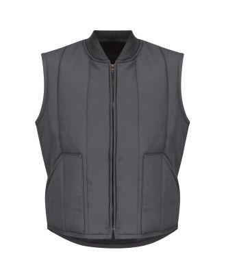 Redkap Men's Quilted Industrial Vest