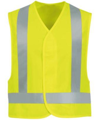 Redkap Men's Safety Hi-Visibility Vest
