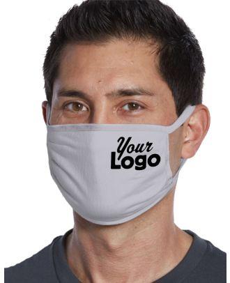 WF Unisex Cotton-Knit (20-units) Custom-Logo Face Mask